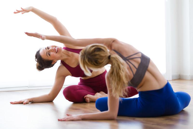 Cuerpo y mente con yoga
