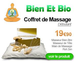 Coffret de massage débutant