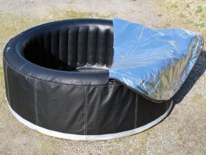 Manta de aislamiento de spa inflable